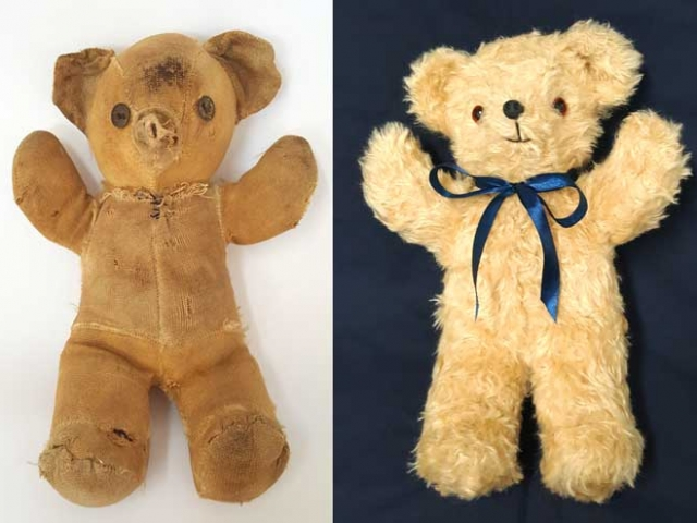 Antique Teddy Bear Restoration - New Skin