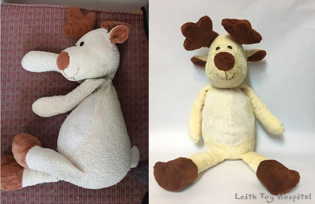 Reindeer Teddy Reconstruction