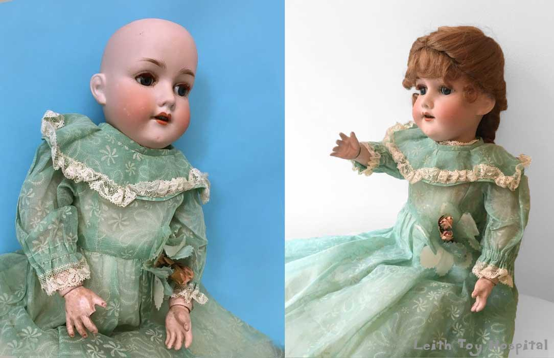 Antique doll repair