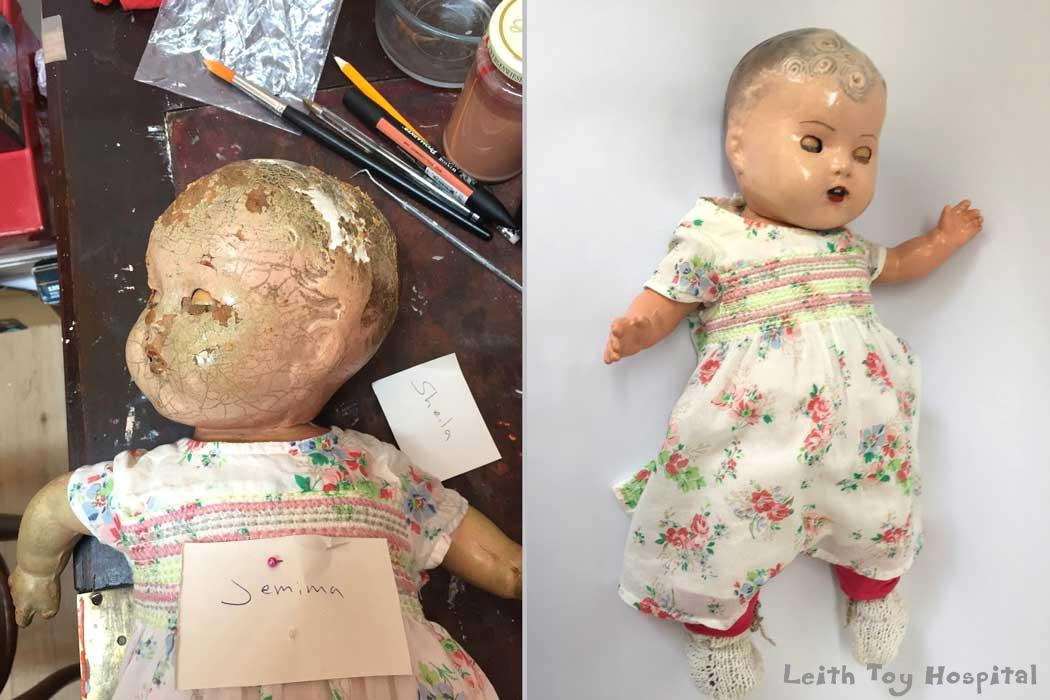 Composition Doll Repair