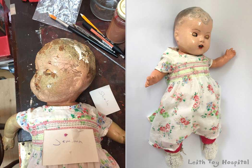 Composition Doll Repair