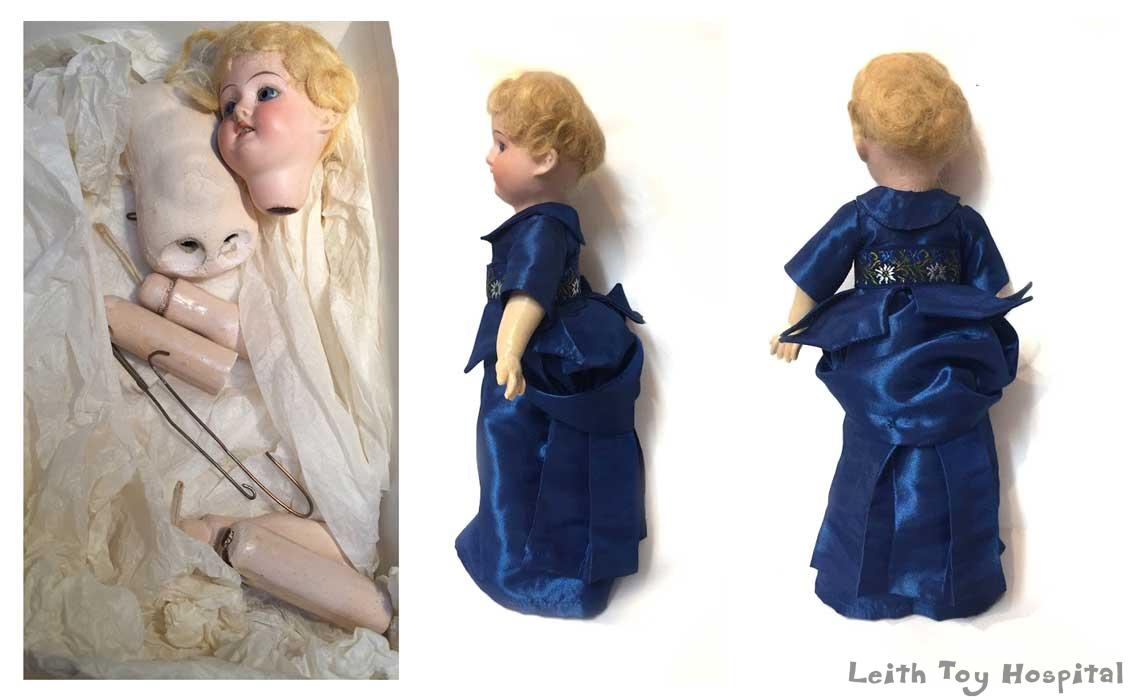 Modern And Antique Doll Restoration Doll Repairs By Leith Toy Hospital