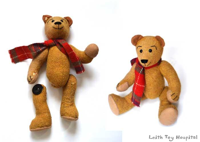 Collectible bear restoration
