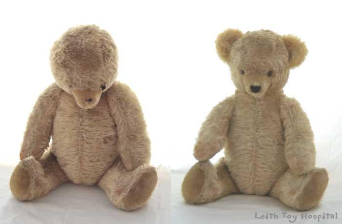 Teddy bear repair in Edinburgh