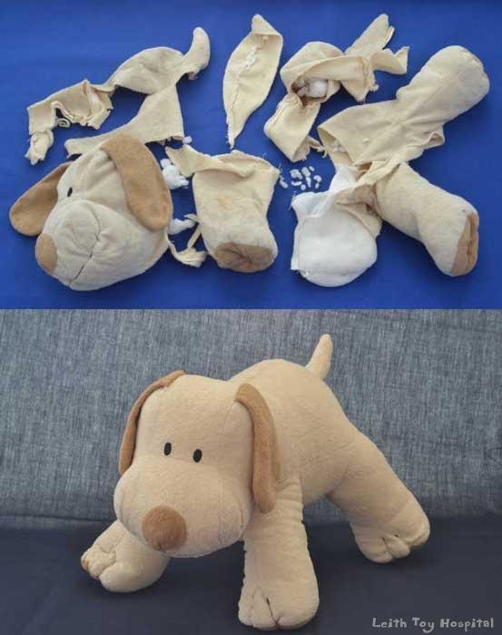 Toy Restoration example