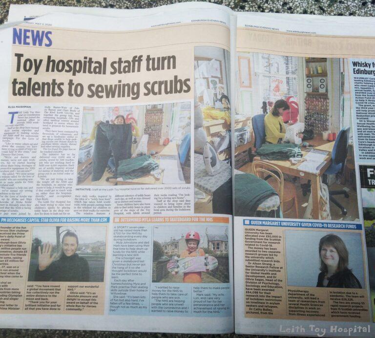 Article in Edinburgh Reporter
