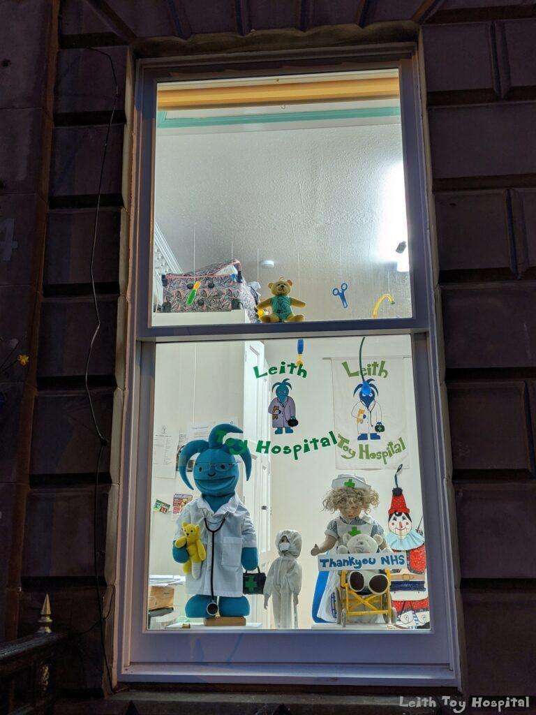 Teddy Window Display