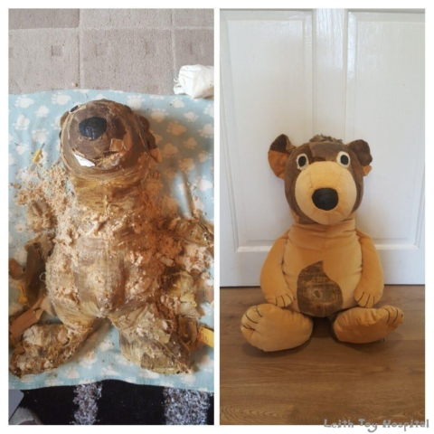 Toy Repair before and after